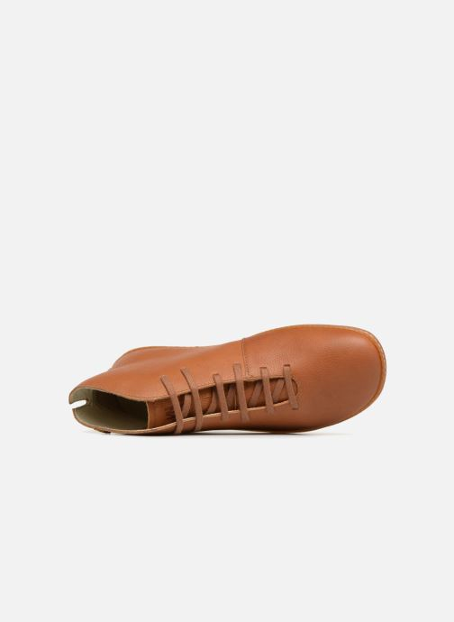 Lace-up shoes El Naturalista Viajero N267 M Brown view from the left
