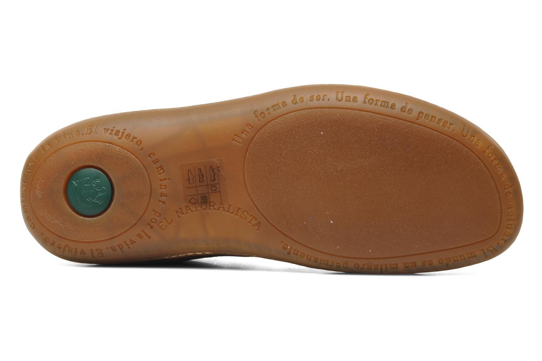 Chaussures à lacets El Naturalista Viajero N267 M Marron vue haut