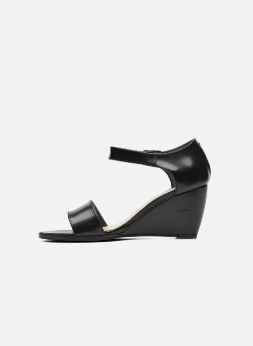 Sandales et nu-pieds Jonak Direct Noir vue face