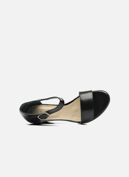 Sandales et nu-pieds Jonak Direct Noir vue gauche