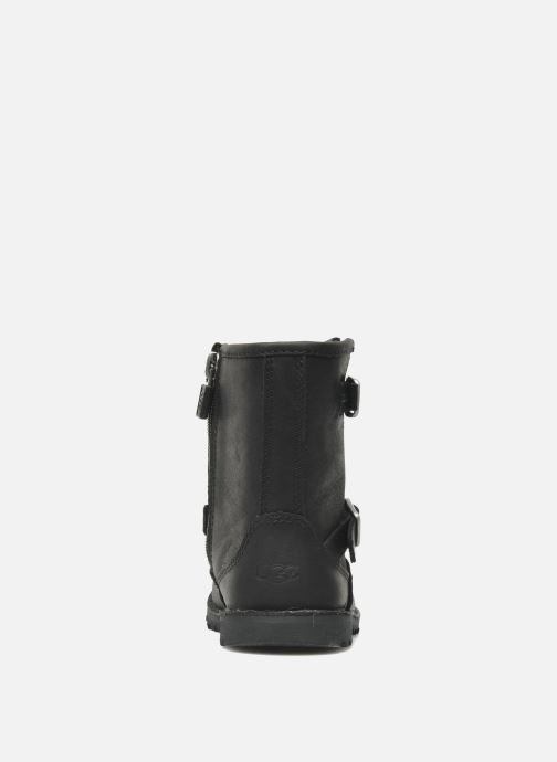 Ankle boots UGG Harwell Black view from the right