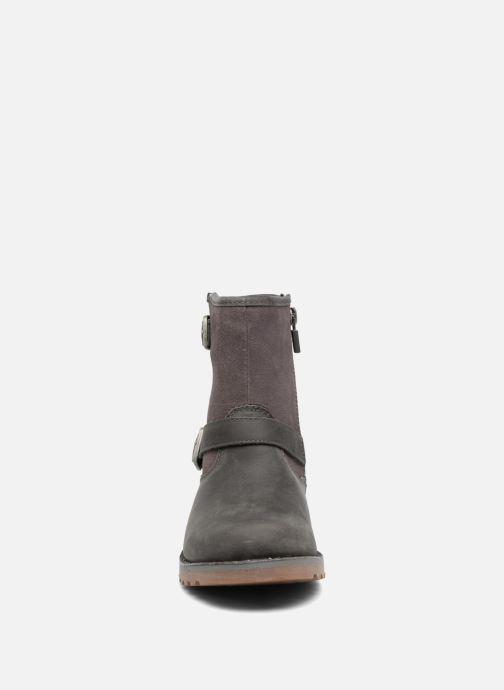 Stiefeletten & Boots UGG Harwell grau schuhe getragen