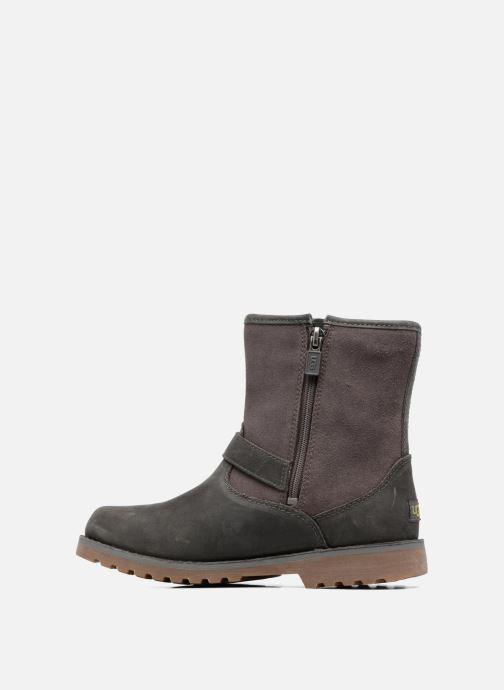 Stiefeletten & Boots UGG Harwell grau ansicht von vorne