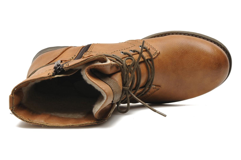 Bottines et boots Mustang shoes Irina Marron vue gauche