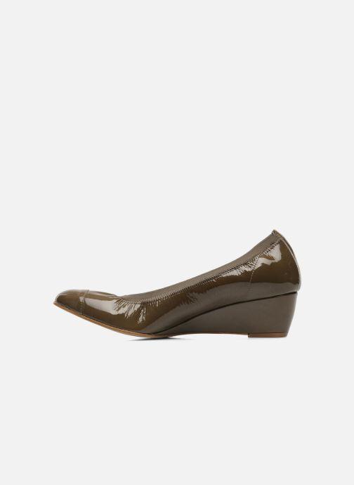 High heels Elizabeth Stuart NEMO 348 Brown front view