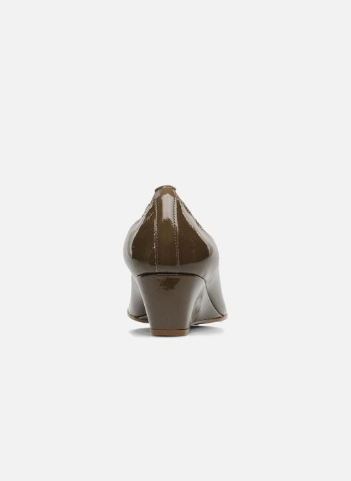 High heels Elizabeth Stuart NEMO 348 Brown view from the right