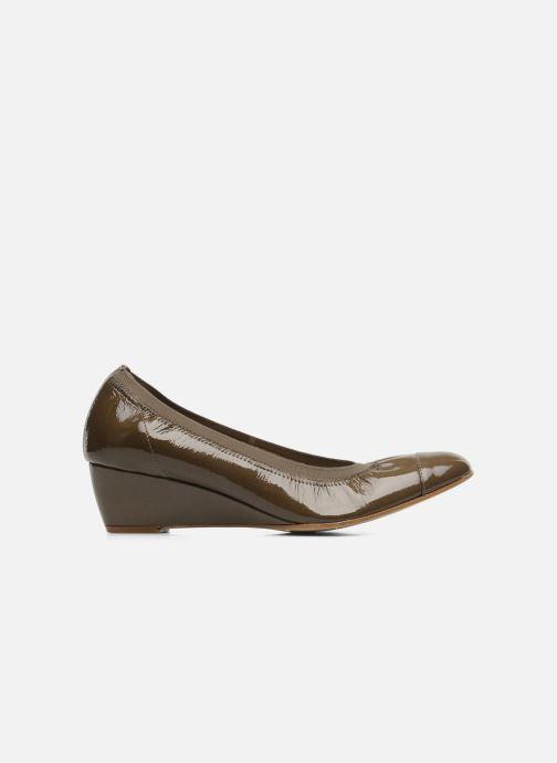 High heels Elizabeth Stuart NEMO 348 Brown back view