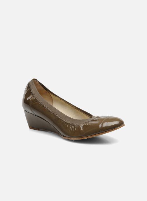 High heels Elizabeth Stuart NEMO 348 Brown detailed view/ Pair view