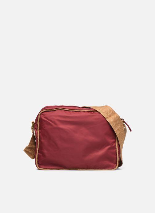 Handtaschen Bensimon Small Besace weinrot ansicht von vorne