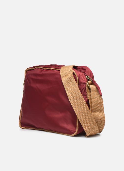 Handtaschen Bensimon Small Besace weinrot ansicht von rechts