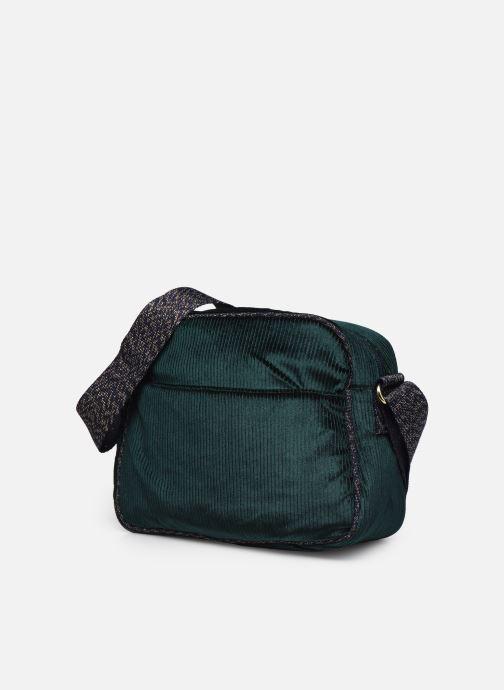 Borse Bensimon Small Besace Verde modello indossato