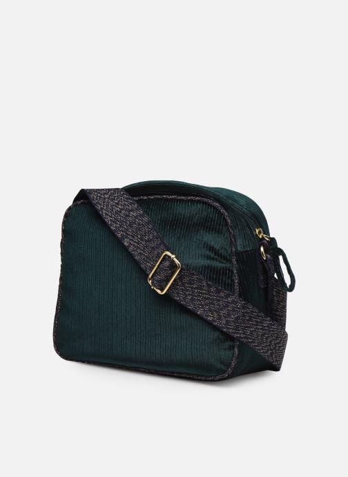 Bolsos de mano Bensimon Small Besace Verde vista lateral derecha