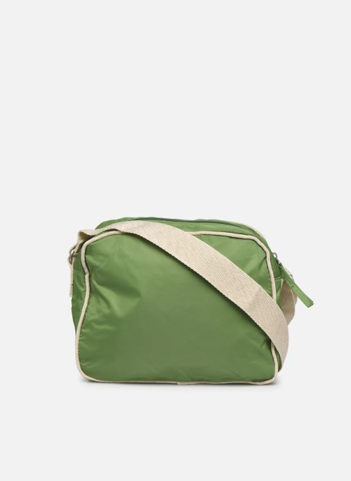 Handtaschen Bensimon Small Besace grün ansicht von vorne