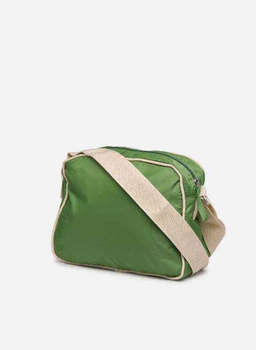 Handtaschen Bensimon Small Besace grün ansicht von rechts