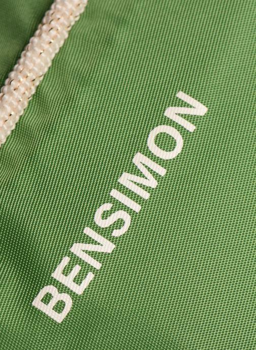 Handtaschen Bensimon Small Besace grün ansicht von links