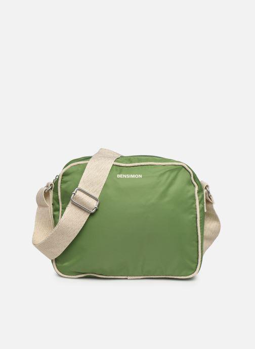 Handtaschen Bensimon Small Besace grün detaillierte ansicht/modell