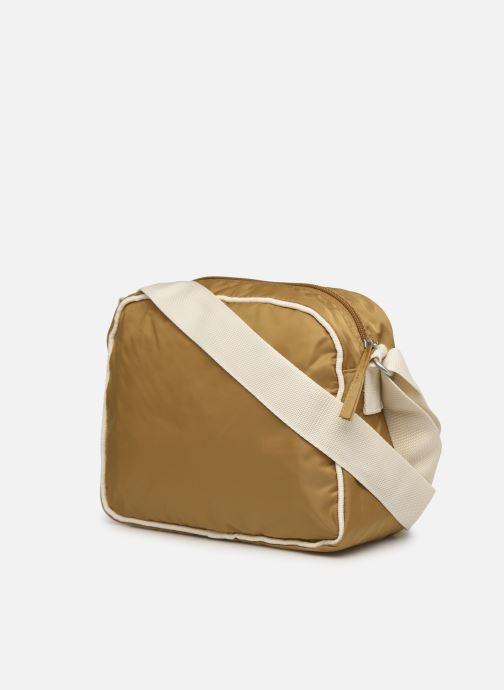 Handtaschen Bensimon Small Besace braun ansicht von rechts
