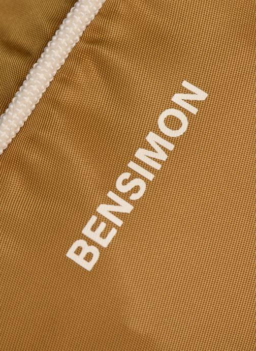 Handtaschen Bensimon Small Besace braun ansicht von links