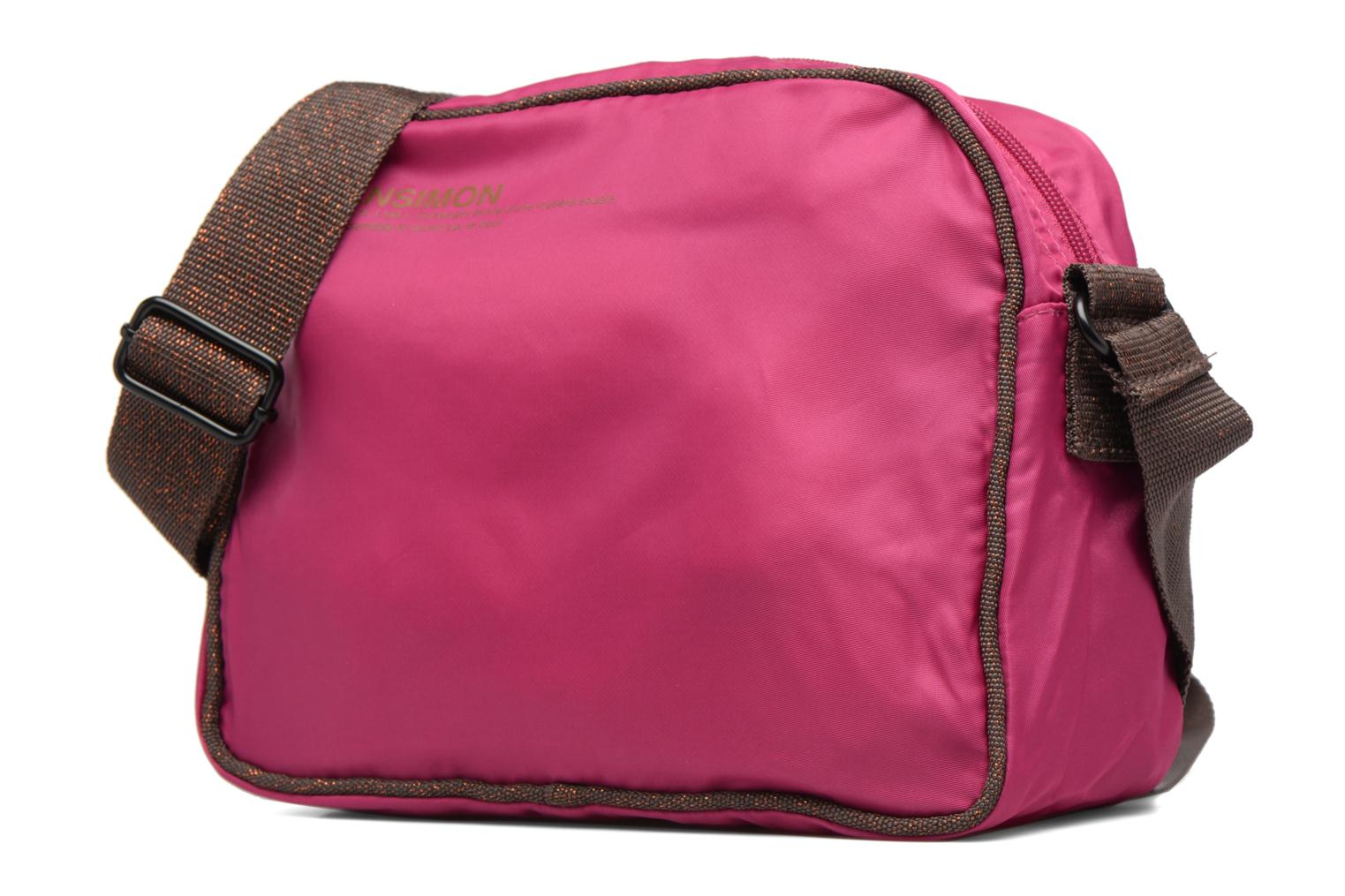 Handbags Bensimon Small Besace Pink model view