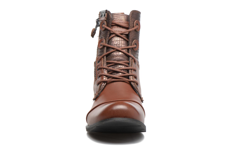 Bottines et boots Bunker Tara por Marron vue portées chaussures