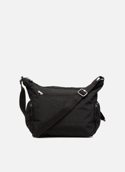 Handtaschen kipling Gabbie schwarz ansicht von vorne