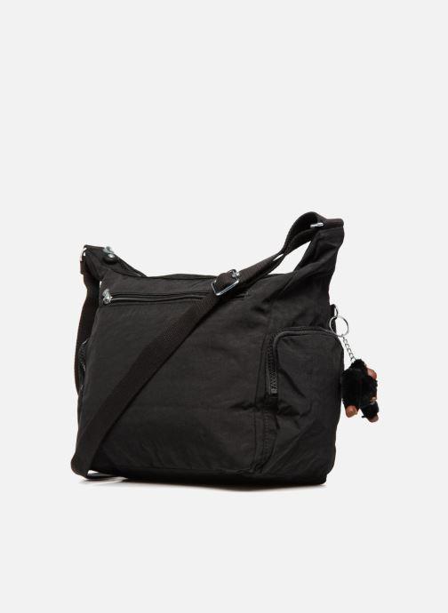 Handtaschen kipling Gabbie schwarz ansicht von rechts