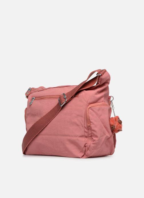 Handtaschen kipling Gabbie rosa ansicht von rechts