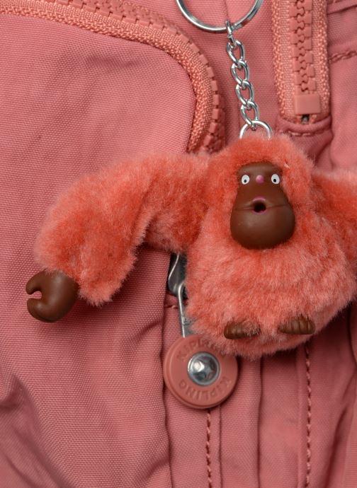 Handtaschen kipling Gabbie rosa ansicht von links