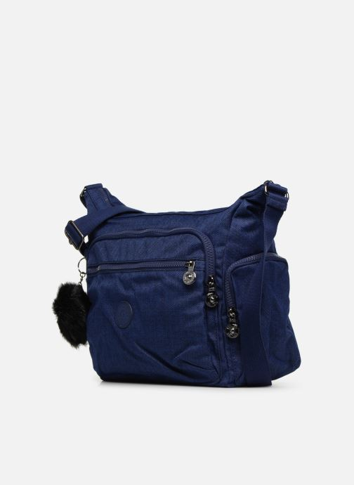 Handtaschen kipling Gabbie blau schuhe getragen