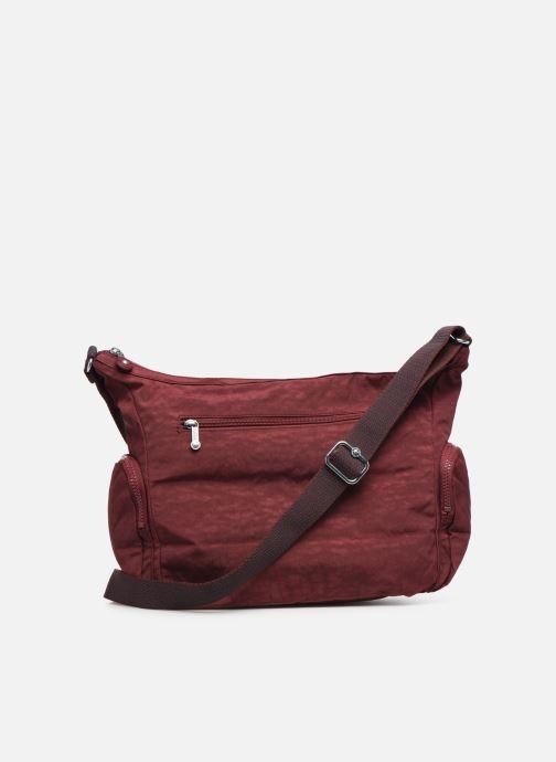 Handtaschen kipling Gabbie weinrot ansicht von vorne