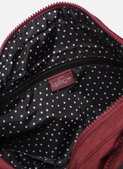 Handtaschen kipling Gabbie weinrot ansicht von hinten