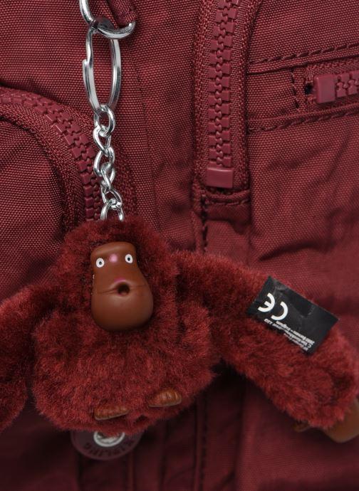 Handtaschen kipling Gabbie weinrot ansicht von links