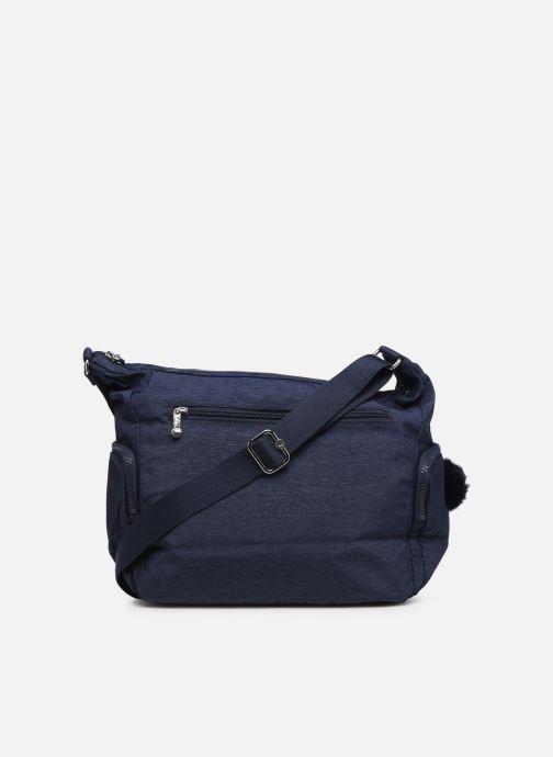 Handtaschen kipling Gabbie blau ansicht von vorne