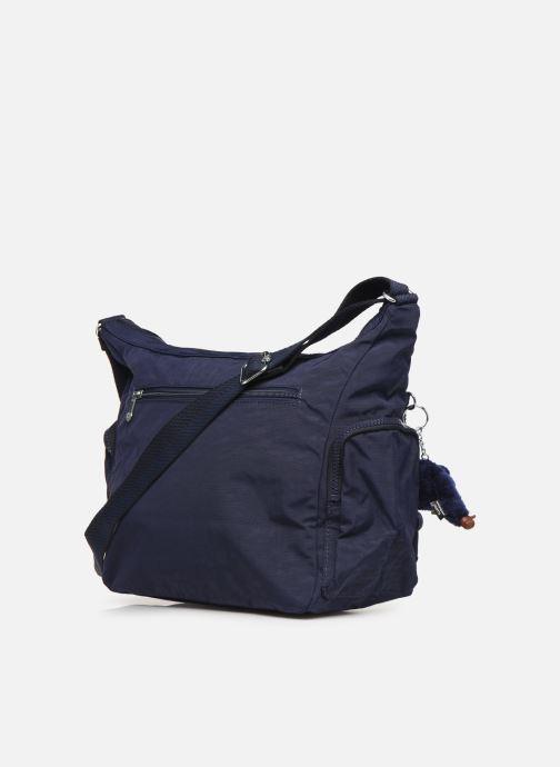 Handtassen kipling Gabbie Blauw rechts