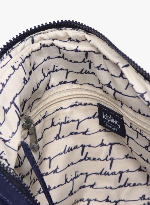 Handtassen kipling Gabbie Blauw achterkant