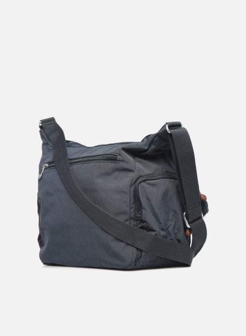 Handtaschen kipling Gabbie blau ansicht von rechts