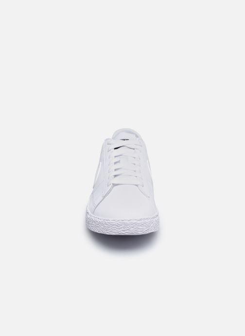 Sneaker Nike Nike Blazer Low (Gs) weiß schuhe getragen