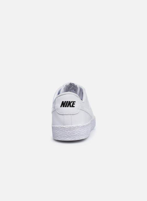 Sneaker Nike Nike Blazer Low (Gs) weiß ansicht von rechts