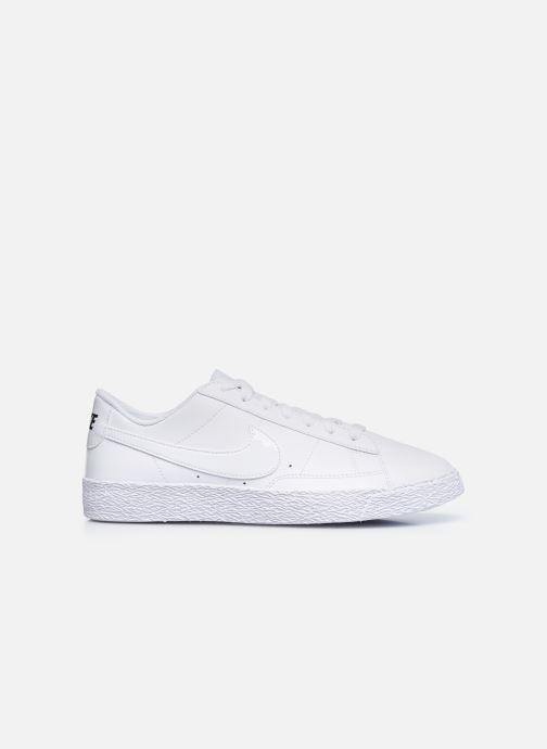 Sneaker Nike Nike Blazer Low (Gs) weiß ansicht von hinten