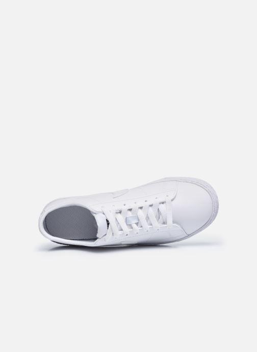 Sneaker Nike Nike Blazer Low (Gs) weiß ansicht von links