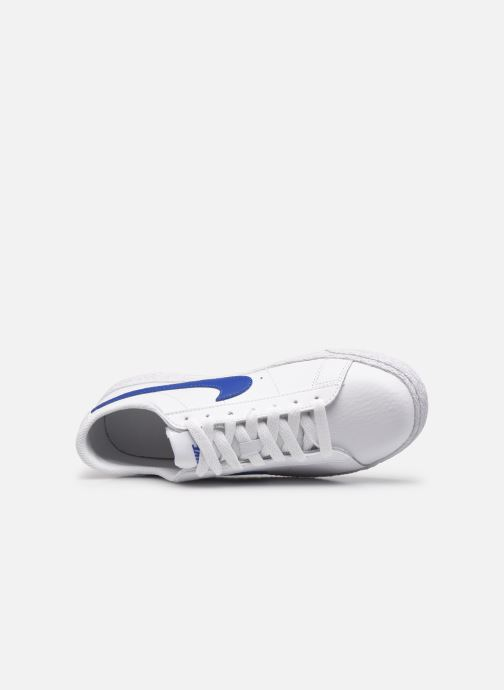 Baskets Nike Nike Blazer Low (Gs) Blanc vue gauche