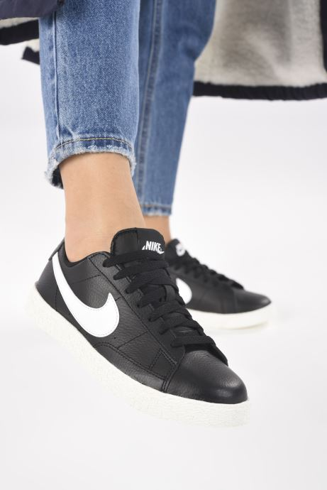 Sneakers Nike Nike Blazer Low Gs Nero immagine dal basso
