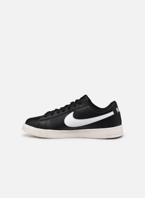 Sneakers Nike Nike Blazer Low Gs Nero immagine frontale