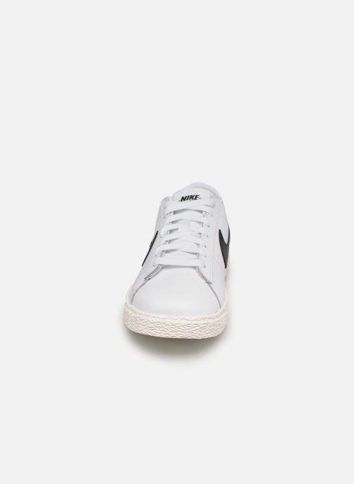 Sneaker Nike Nike Blazer Low Gs weiß schuhe getragen