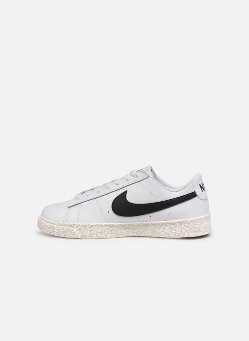 Sneaker Nike Nike Blazer Low Gs weiß ansicht von vorne