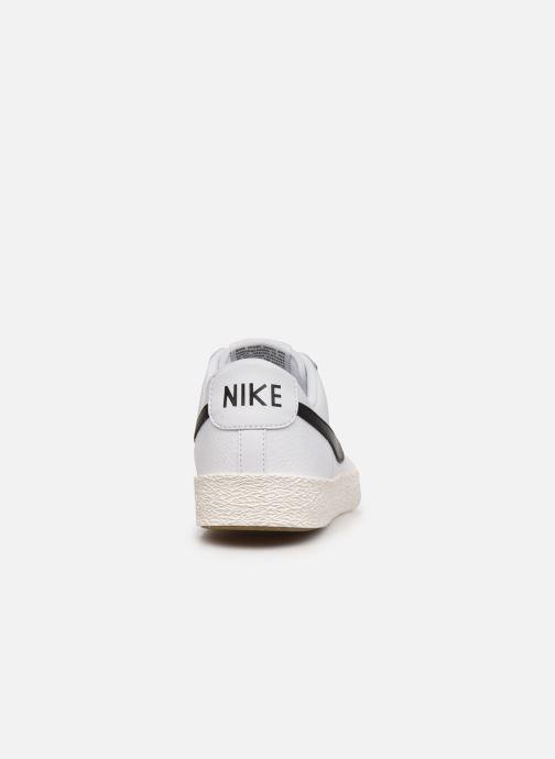 Sneaker Nike Nike Blazer Low Gs weiß ansicht von rechts