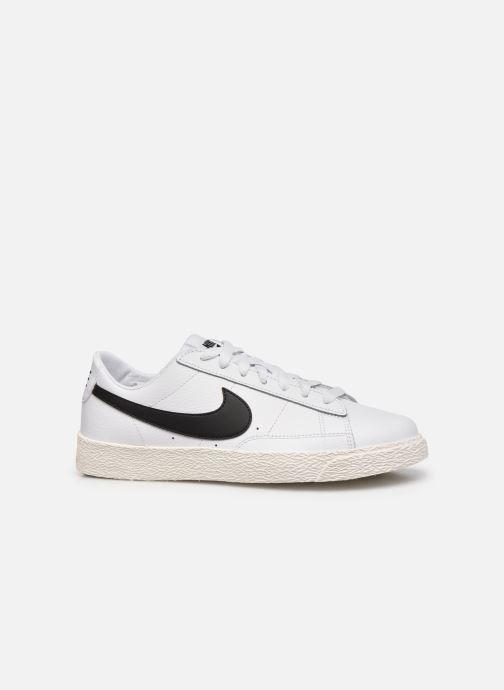 Sneaker Nike Nike Blazer Low Gs weiß ansicht von hinten