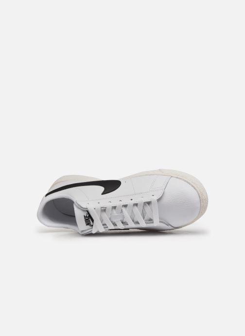 Sneaker Nike Nike Blazer Low Gs weiß ansicht von links