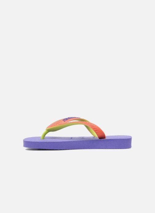 Flip flops Havaianas Top Mix Purple front view