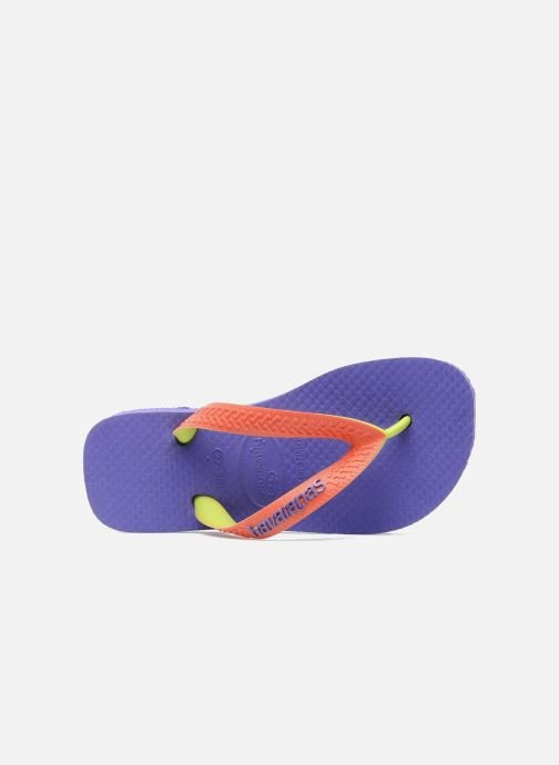 Flip flops Havaianas Top Mix Purple view from the left
